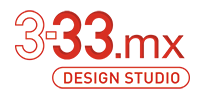 3-33.mx Design Studio Logo